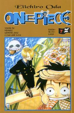 Copertina ONE PIECE n.7 - ONE PIECE, STAR COMICS