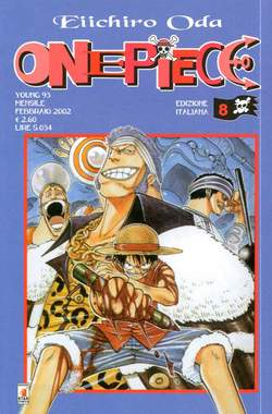 Copertina ONE PIECE n.8 - ONE PIECE, STAR COMICS