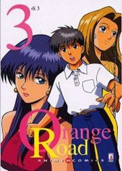 Copertina ORANGE ROAD ANIME n.3 - ORANGE ROAD 3, STAR COMICS