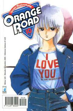 Copertina ORANGE ROAD new n.10 - ORANGE ROAD 10, STAR COMICS