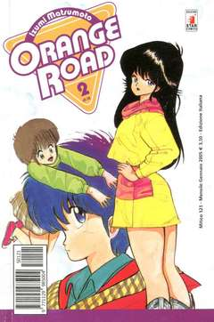 Copertina ORANGE ROAD new n.2 - ORANGE ROAD 2, STAR COMICS