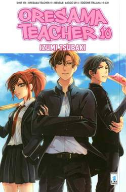 Copertina ORESAMA TEACHER n.10 - ORESAMA TEACHER 10, STAR COMICS