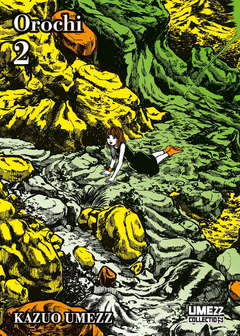 Copertina OROCHI n.2 - UMEZZ COLLETION 12, STAR COMICS