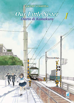 Copertina OUR LITTLE SISTER n.1 - DIARIO DI KAMAKURA, STAR COMICS