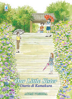 Copertina OUR LITTLE SISTER n.2 - DIARIO DI KAMAKURA, STAR COMICS