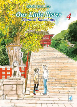 Copertina OUR LITTLE SISTER n.4 - DIARIO DI KAMAKURA, STAR COMICS