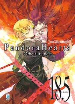 Copertina PANDORA HEARTS OFFICIAL GUIDE n.2 - 18,5 EVIDENCE, STAR COMICS