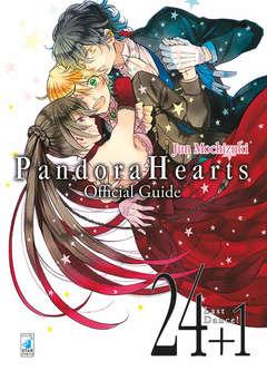 Copertina PANDORA HEARTS OFFICIAL GUIDE n.3 - 24+1 LAST DANCE!, STAR COMICS
