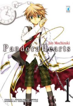 Copertina PANDORA HEARTS n.1 - PANDORA HEARTS (m24), STAR COMICS