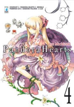 Copertina PANDORA HEARTS n.4 - PANDORA HEARTS (m24), STAR COMICS