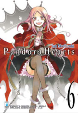Copertina PANDORA HEARTS n.6 - PANDORA HEARTS (m24), STAR COMICS