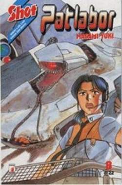 Copertina PATLABOR n.8 - PATLABOR 8, STAR COMICS