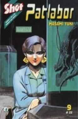 Copertina PATLABOR n.9 - PATLABOR 9, STAR COMICS