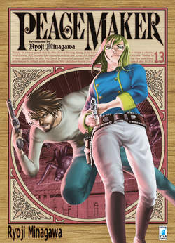 Copertina PEACE MAKER n.13 - PEACE MAKER (m17) 13 	, STAR COMICS