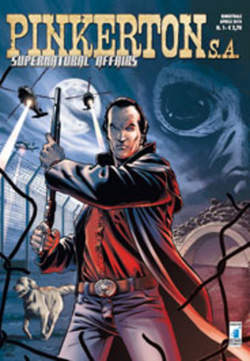 Copertina PINKERTON S.A. n.1 - SUPERNATURAL AFFAIRS, STAR COMICS
