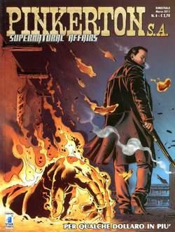 Copertina PINKERTON S.A. n.6 - PER QUALCHE DOLLARO IN PIU', STAR COMICS