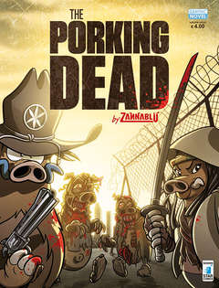 Copertina PORKING DEAD n. - THE PORKING DEAD, STAR COMICS