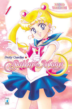 Copertina PRETTY GUARDIAN SAILOR MOON n.1 - PRETTY GUARDIAN SAILOR MOON - New Edition (m12), STAR COMICS