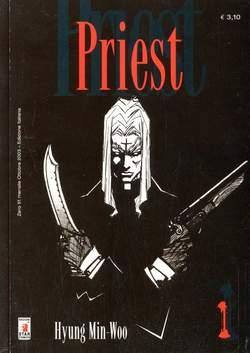 Copertina PRIEST n.1 - PRIEST 1, STAR COMICS