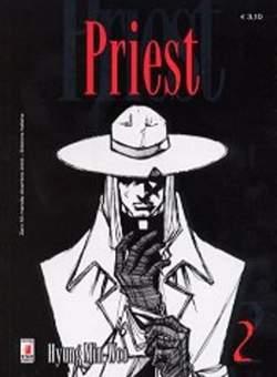 Copertina PRIEST n.2 - PRIEST 2, STAR COMICS