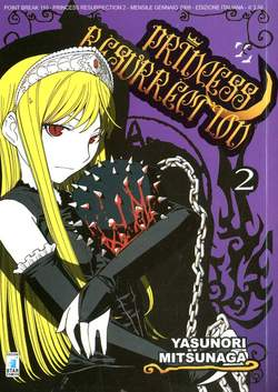 Copertina PRINCESS RESURRECTION n.2 - PRINCESS RESURRECTION 2, STAR COMICS