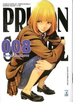 Copertina PRISON SCHOOL n.8 - PRISON SCHOOL 8, STAR COMICS