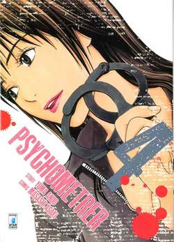 Copertina PSYCHOMETRER n.4 - PSYCHOMETRER 4, STAR COMICS
