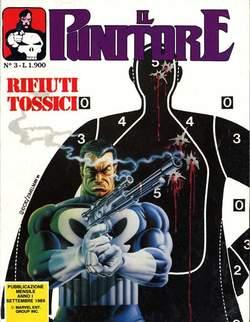 Copertina PUNITORE n.3 - IL PUNITORE                  3, STAR COMICS