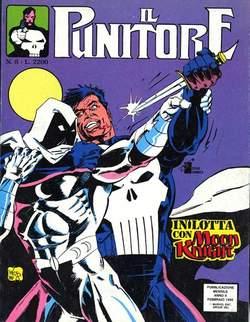 Copertina PUNITORE n.8 - IL PUNITORE                  8, STAR COMICS