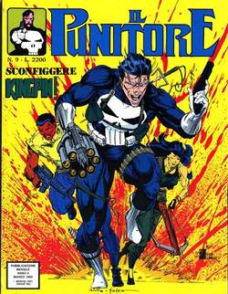 Copertina PUNITORE n.9 - IL PUNITORE                  9, STAR COMICS