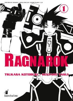 Copertina RAGNAROK n.1 - RAGNAROK 1 (m3), STAR COMICS