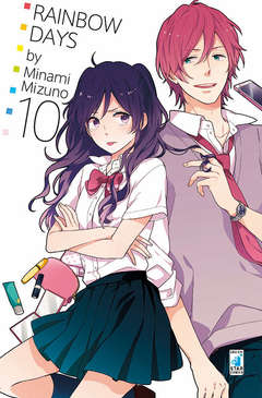 Copertina RAINBOW DAYS n.10 - RAINBOW DAYS (m15), STAR COMICS