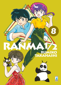 Copertina RANMA 1/2 New Edition (m20) n.8 - RANMA 1/2 New Edition, STAR COMICS