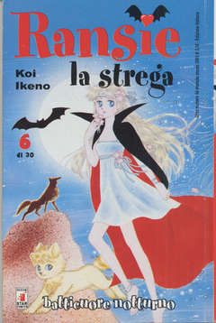 Copertina RANSIE LA STREGA n.6 - BATTICUORE NOTTURNO 6, STAR COMICS