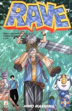 Copertina RAVE n.9 - RAVE 9, STAR COMICS