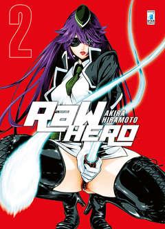 Copertina RAW HERO n.2 - RAW HERO 2, STAR COMICS