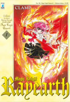 Copertina RAYEARTH n.1 - MAGIC KNIGHT RAYEARTH 1 (m3), STAR COMICS