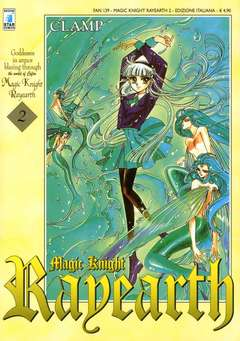 Copertina RAYEARTH n.2 - MAGIC KNIGHT RAYEARTH 2 (m3), STAR COMICS