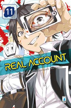 Copertina REAL ACCOUNT n.11 - REAL ACCOUNT 11, STAR COMICS
