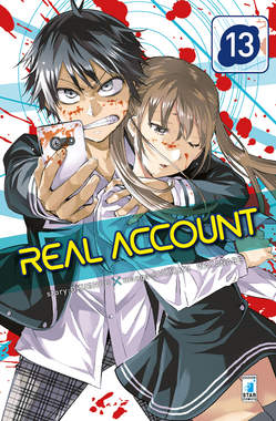 Copertina REAL ACCOUNT n.13 - REAL ACCOUNT, STAR COMICS
