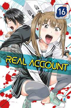 Copertina REAL ACCOUNT n.16 - REAL ACCOUNT 16, STAR COMICS