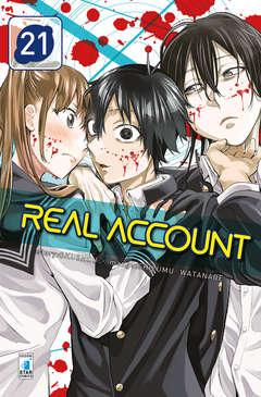 Copertina REAL ACCOUNT n.21 - REAL ACCOUNT 21 (m24), STAR COMICS