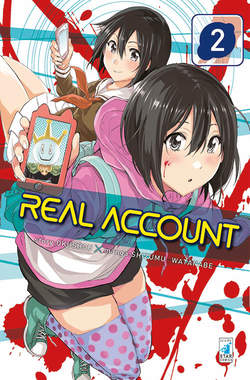 Copertina REAL ACCOUNT n.2 - REAL ACCOUNT 2, STAR COMICS