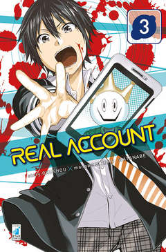 Copertina REAL ACCOUNT n.3 - REAL ACCOUNT 3, STAR COMICS