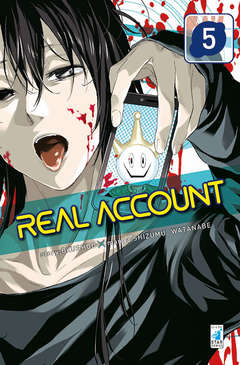 Copertina REAL ACCOUNT n.5 - REAL ACCOUNT, STAR COMICS