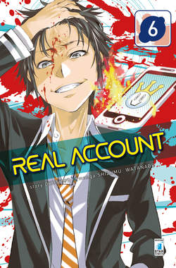 Copertina REAL ACCOUNT n.6 - REAL ACCOUNT 6, STAR COMICS