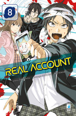 Copertina REAL ACCOUNT n.8 - REAL ACCOUNT, STAR COMICS