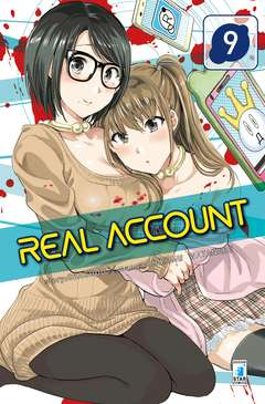 Copertina REAL ACCOUNT n.9 - REAL ACCOUNT, STAR COMICS