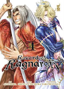 Copertina RECORD OF RAGNAROK n.4 - RECORD OF RAGNAROK 4, STAR COMICS