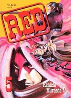 Copertina RED LIVING ON THE EDGE n.5 - RED LIVING ON THE EDGE 5, STAR COMICS